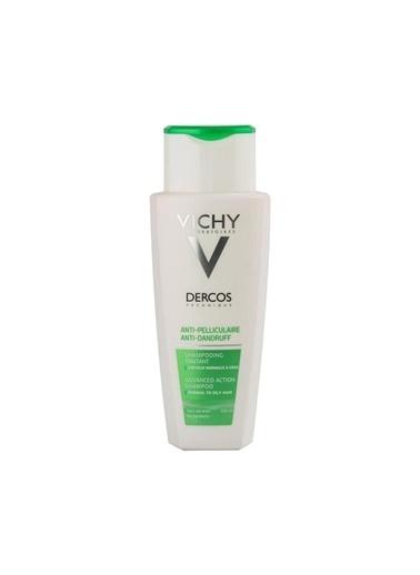 Vichy VICHY Dercos Anti-Pelliculaire (Anti-Dandruff) DS GRAS Normal to Oily Hair Shampoo 200 ml - Kepek (Normal, yağlı saç) Renksiz